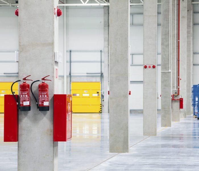 Modern, Empty, Brand New, Huge Storehouse