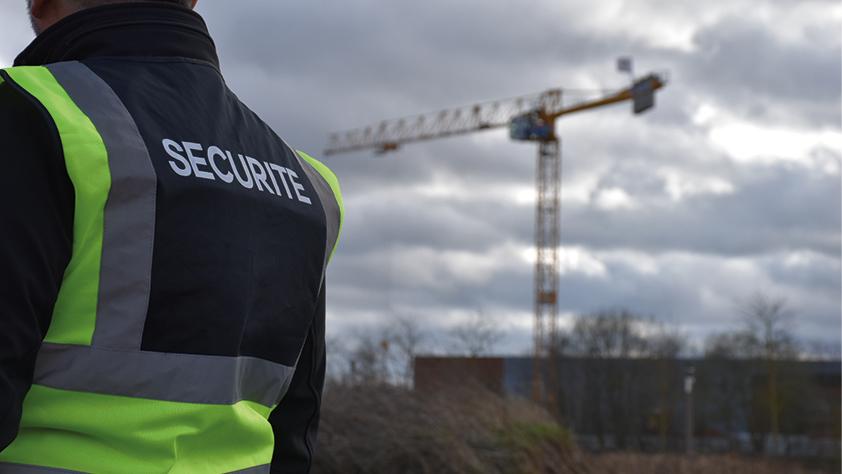 Entreprise de sécurité chantier